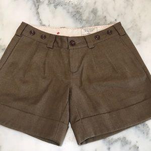 Anthropologie GI Basic Goods wool shorts